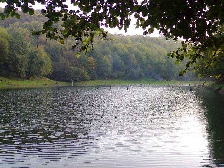 دریاچه میانشه یا چورت