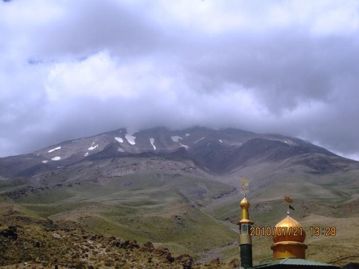 قله دماوند ازگوسفند سرا